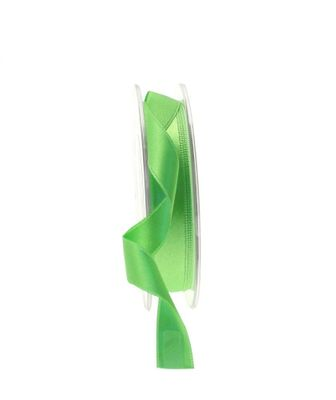 15mm Satin Ribbon Lime