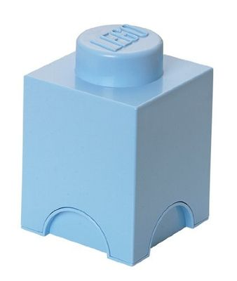 Pale Blue LEGO Brick