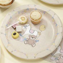 Rock A Bye Baby Paper Plates