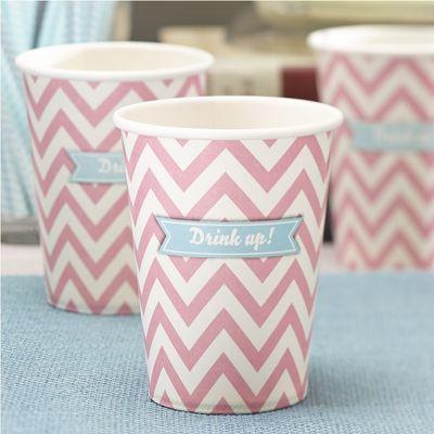 Chevron Paper Cups