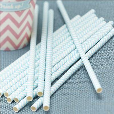 Chevron Straws
