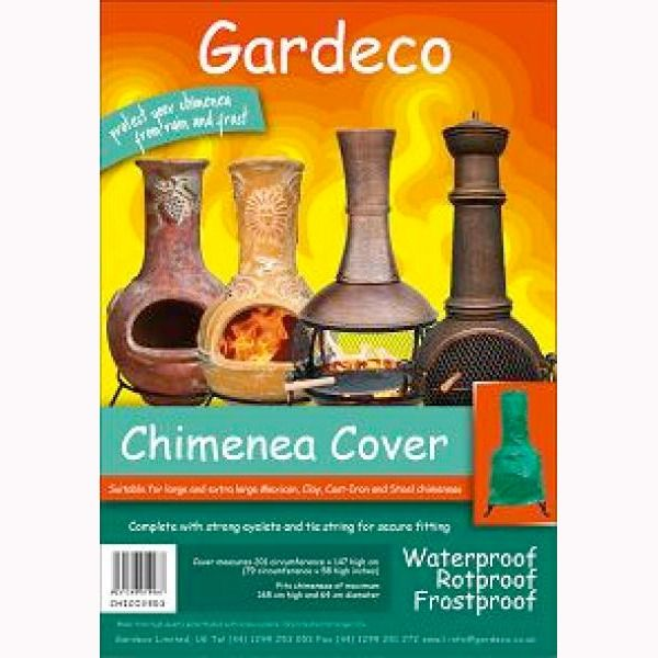 Gardeco Chimenea Cover - Extra Large - Packaged