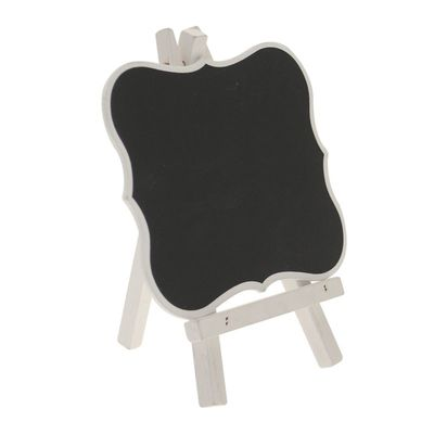 Scalloped Edge Blackboard Easel
