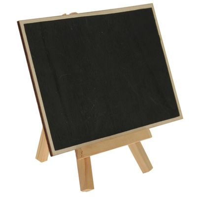 Rectangle Chalkboard Easel