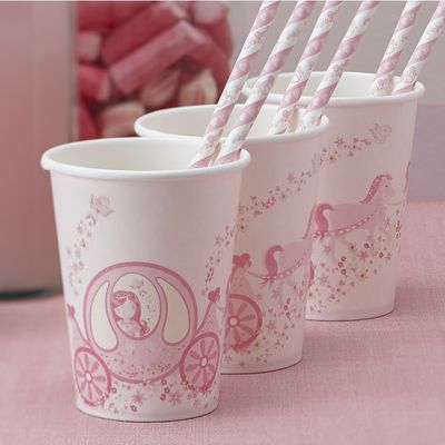 Party Princess Paper Cups