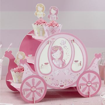 Princess Party Carriage Cake Stand