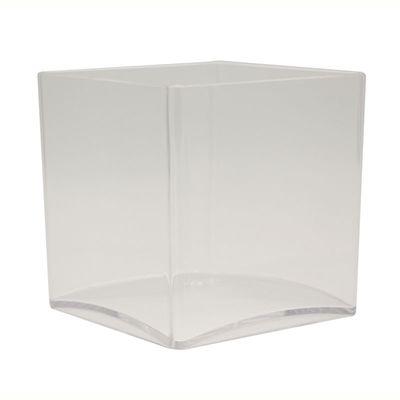 12cm Clear Acrylic Cube