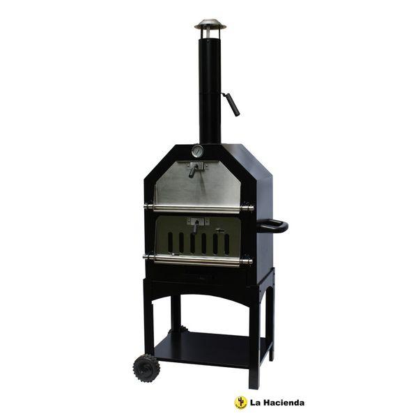 La Hacienda Pizza Oven Smoker