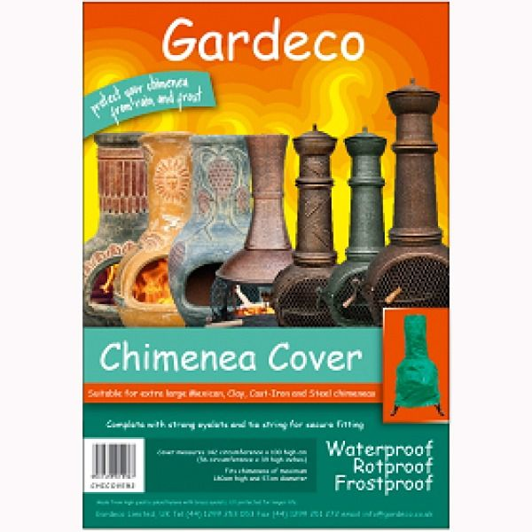 Gardeco Chimenea Cover - L and XL - Packaging