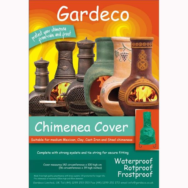 Gardeco Chimenea Cover - Medium & Large - Packaging