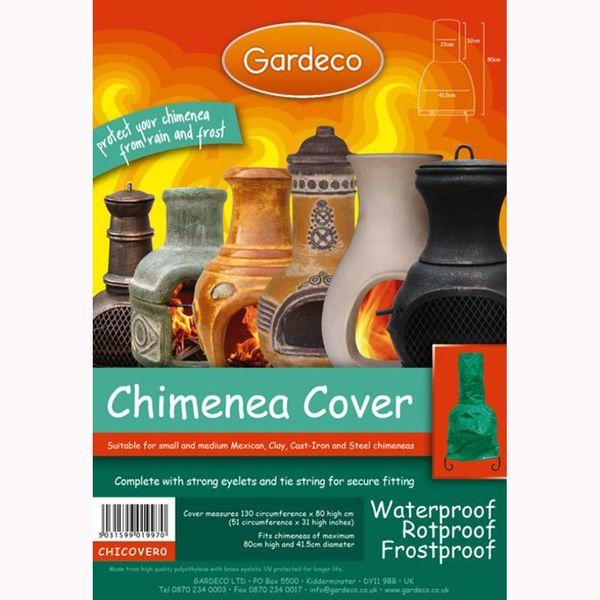 Gardeco Medium Chimenea Cover - Packaged