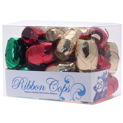 red green gold ribbon cops