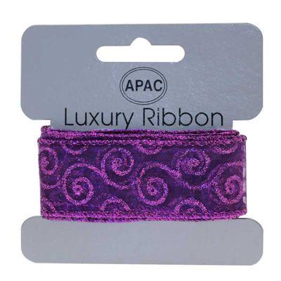 Purple Decorative Ribbon