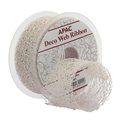 Ivory Deco Web Ribbon