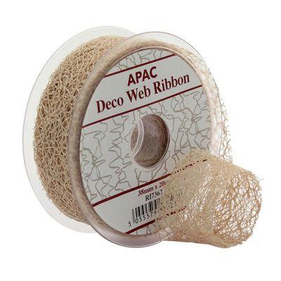 Natural Deco Web Ribbon