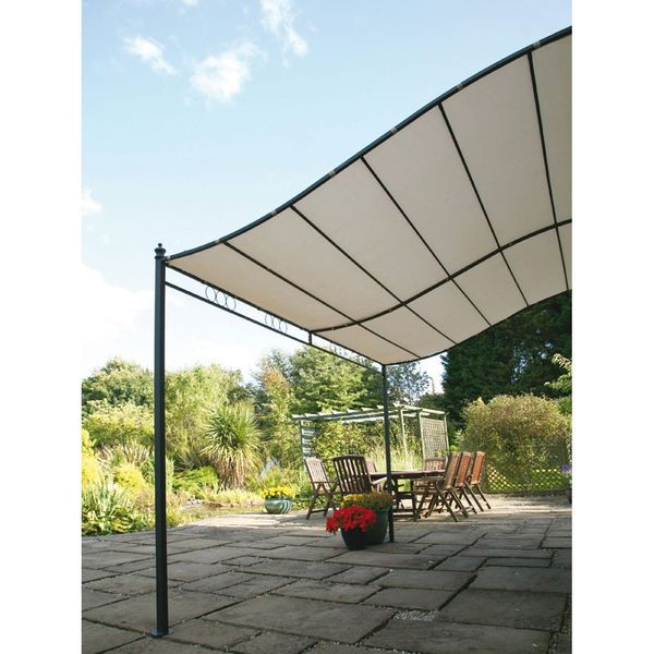 Gablemere Wall Mounted Gazebo 2.5m