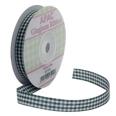 Green Gingham Ribbon