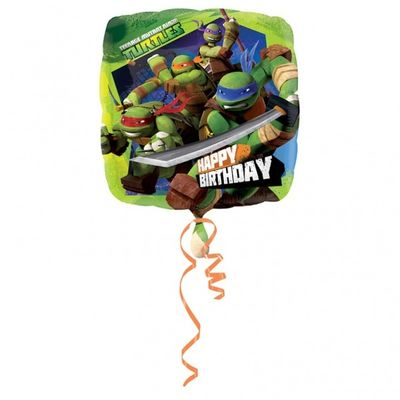 TMNT Happy Birthday Foil Balloon