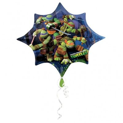 TMNT Supershape Foil Balloon