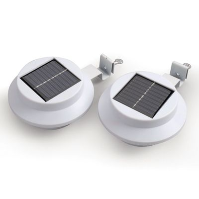 Gablemere Solar Gutter Lights - White