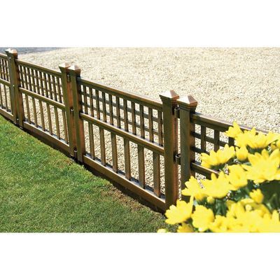 Gablemere Bronze Fence Panels