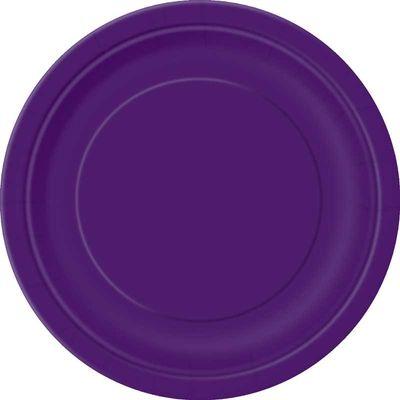 Purple Paper Party Plates