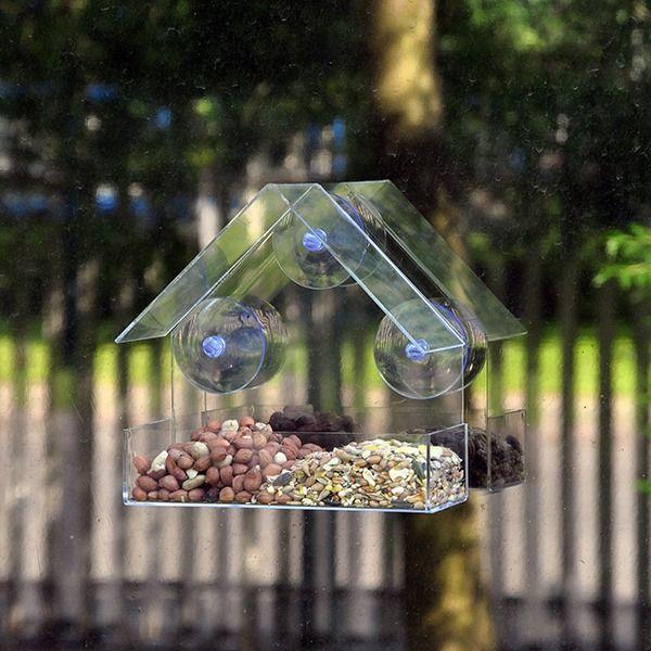 Kingfisher Window Bird Feeder