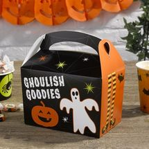 Happy Halloween Ghoulish Goodies Party Box