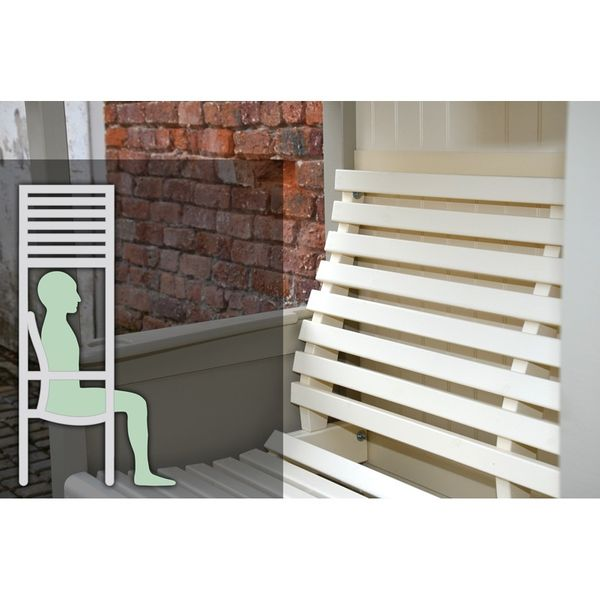 AFK Cottage Arbour - Ergonomic Cream Seat