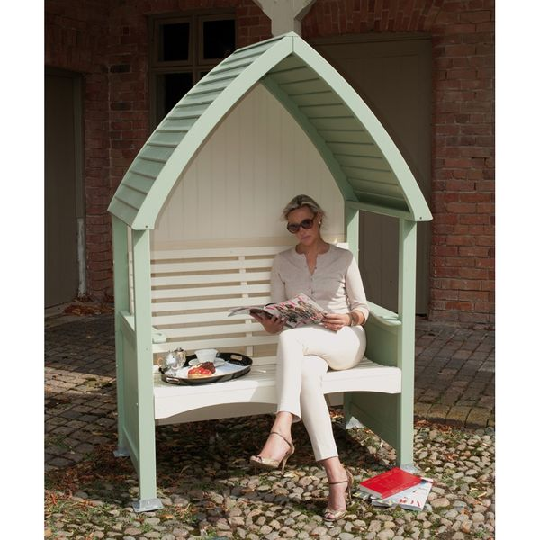 AFK Cottage Arbour - Heritage Sage and Cream
