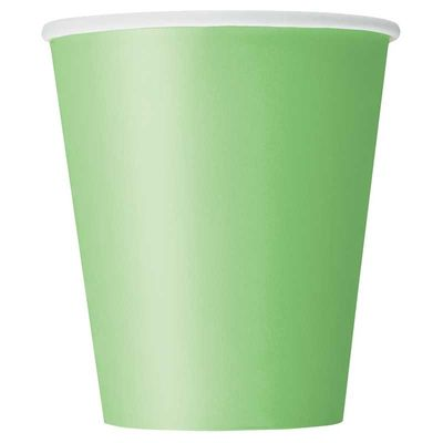 Lime Green Paper Cup
