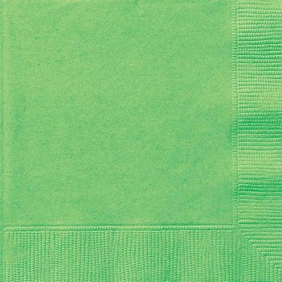 Lime Green Paper Napkin