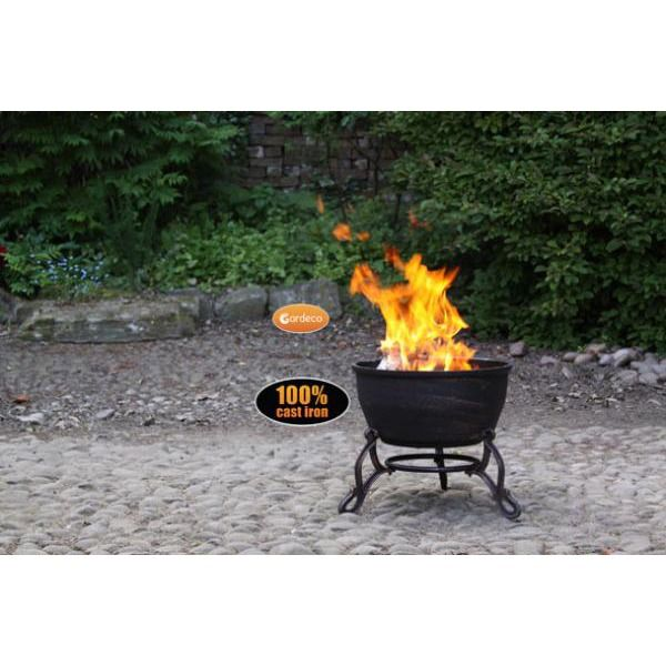 Gardeco Elidir Fire Bowl - Distant