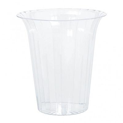 15cm Flared Acylic Vase