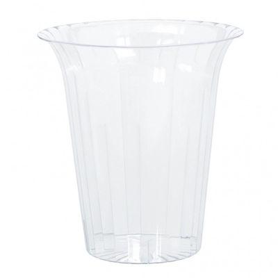 19cm Flared Acrylic Vase