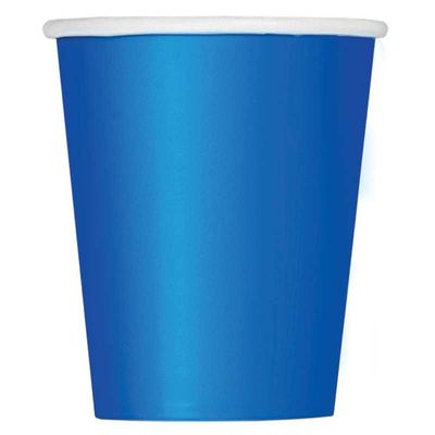Royal Blue Paper Cup