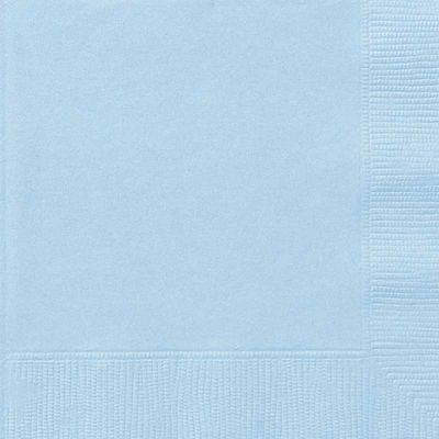 Baby Blue Paper Napkin