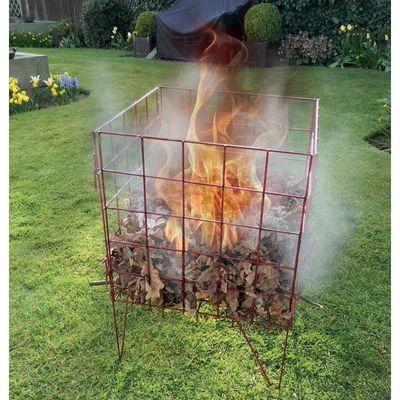 Garland Incinerator - In use