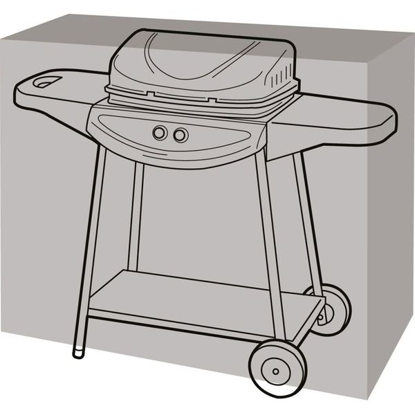 Garland Medium Barbecue Cover - Cover on bbq
