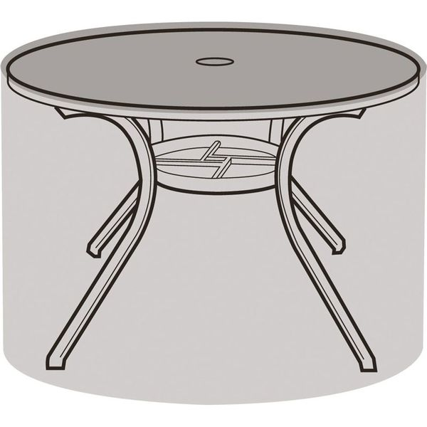 Garland 4 Seater Round Furniture Cover - Cover over table