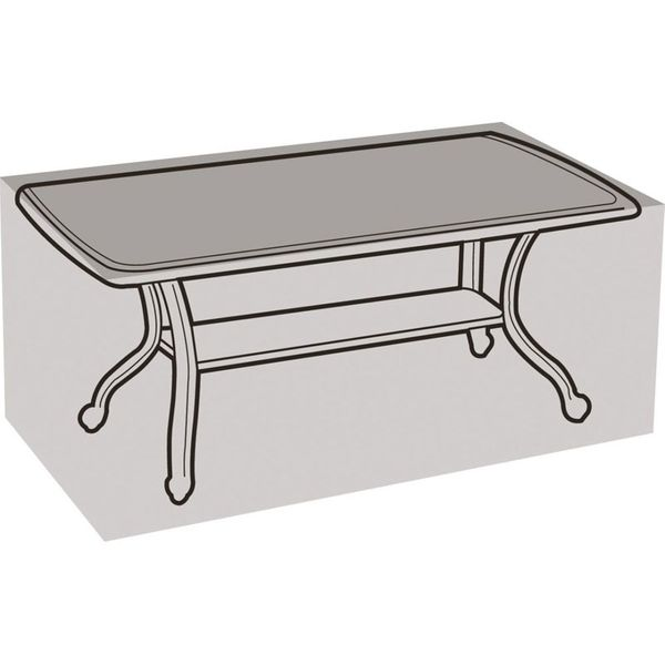 Garland 6 Seater Rectangular Table Cover - Cover over table