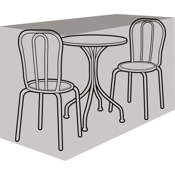 Garland 2 Seater Bistro Set Cover - Cover over furniture