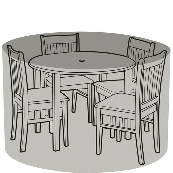 Garland 4 Seater Round Patio Set Cover - Cover over furniture