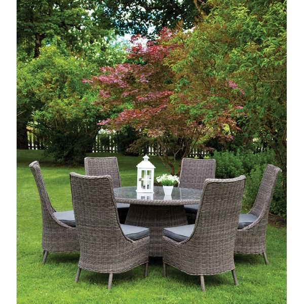 Garland 6-8 Seater Round Patio Set Cover - Furniture only