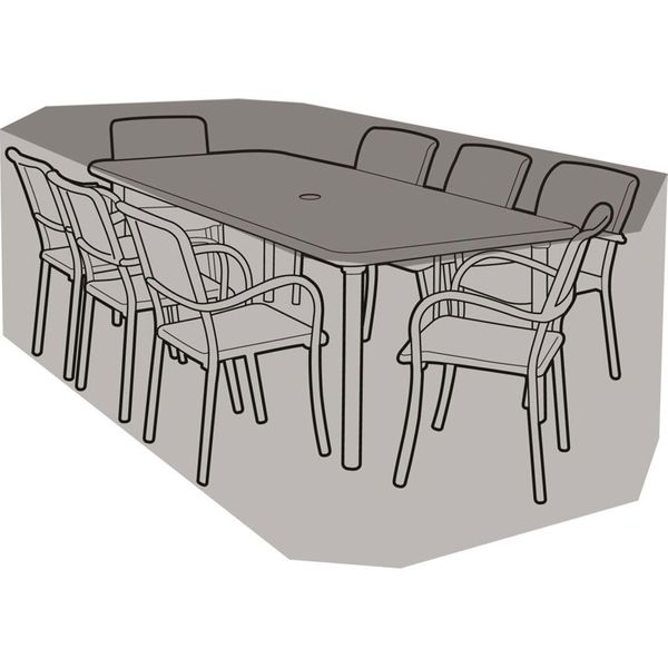 Garland 8 Seater Rectangular Furniture Set Cover - Cover over furniture
