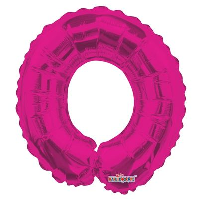 Number 0 Balloon in Pink