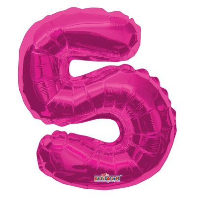 Number 5 Balloon in Pink