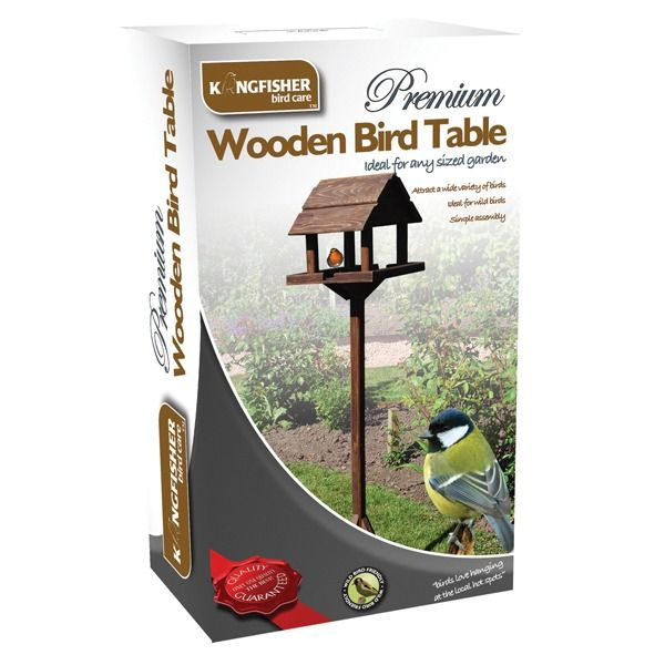 Kingfisher Premium Deluxe Bird Table