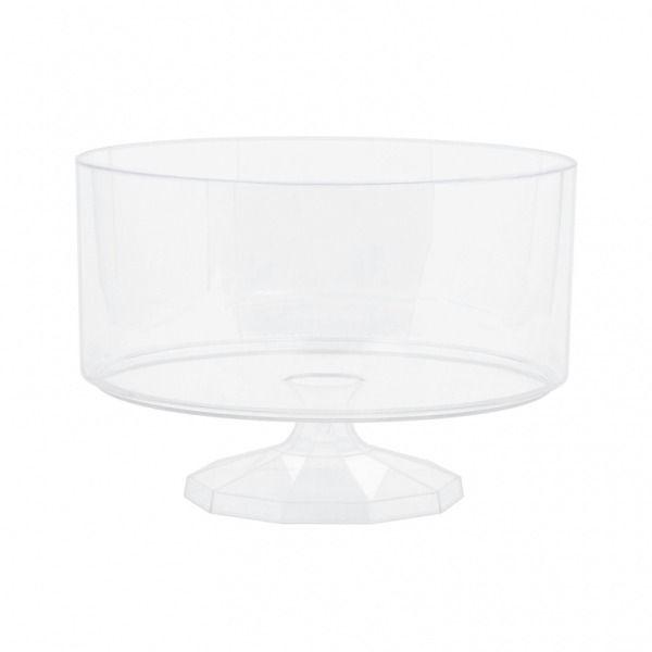 15cm Acrylic Pedestal Vase