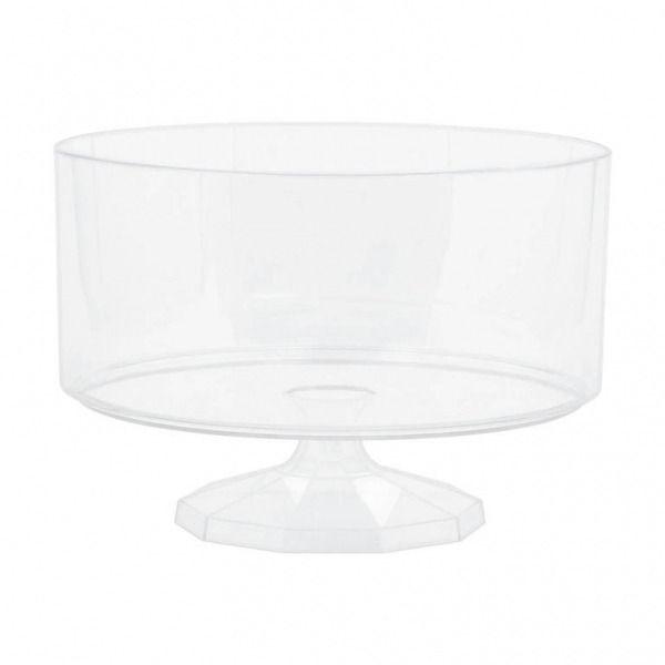19cm Acrylic Pedestal Vase
